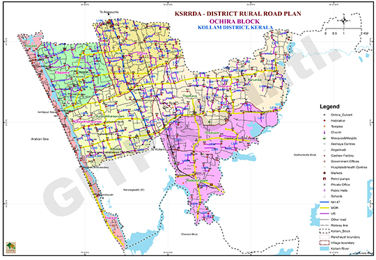 District Rural Road Plan